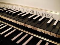 clavecin (détail)